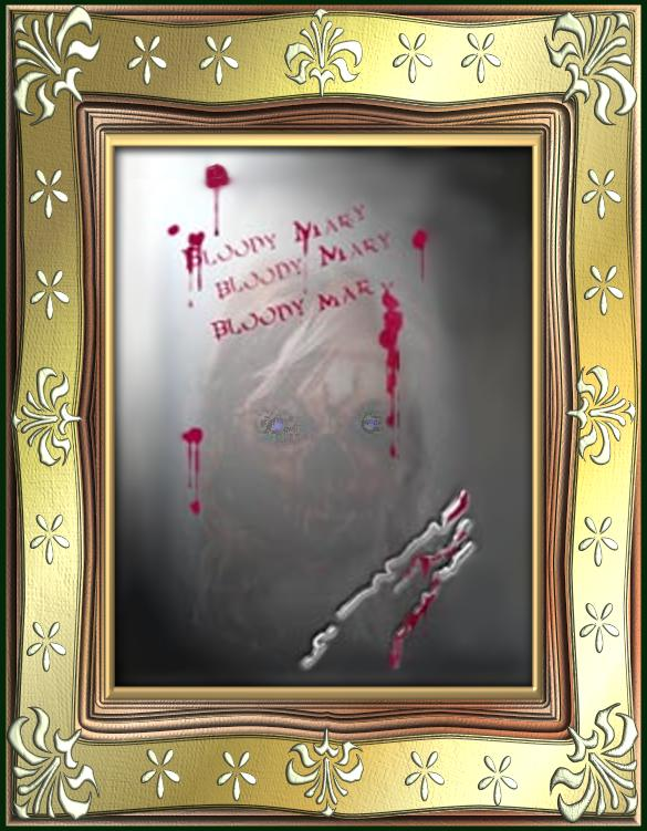 bloody mary in the bathroom mirror through the looking glass the mirror scare uncoolghoul 25163
